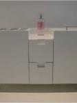 Revisteiro e nichos para WC suíte máster