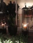 Consulado Jardins - produção para evento com velas