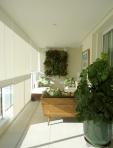 Cliente Vila Mariana - varanda verde