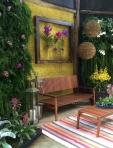 Mostra Jardins Verticais no Orquidário Morumbi
