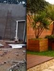 Cliente Butantã - Antes e depois